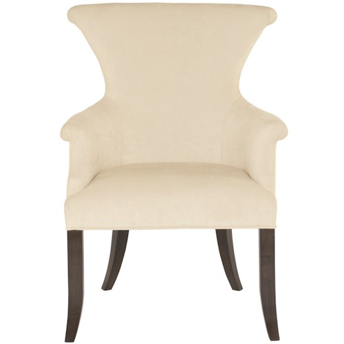 Bernhardt Jet Set <b>Customizable</b> Arm Chair with Ring Pull Hardware
