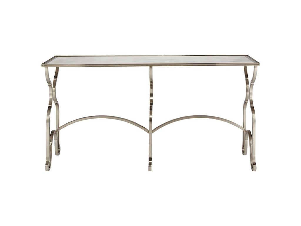 Bernhardt Laurel 532 903 Rectangular Console Table With Antique