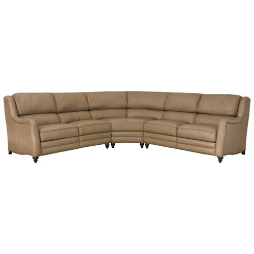 Bernhardt Lawson Power Motion Sectional with 5 Seats