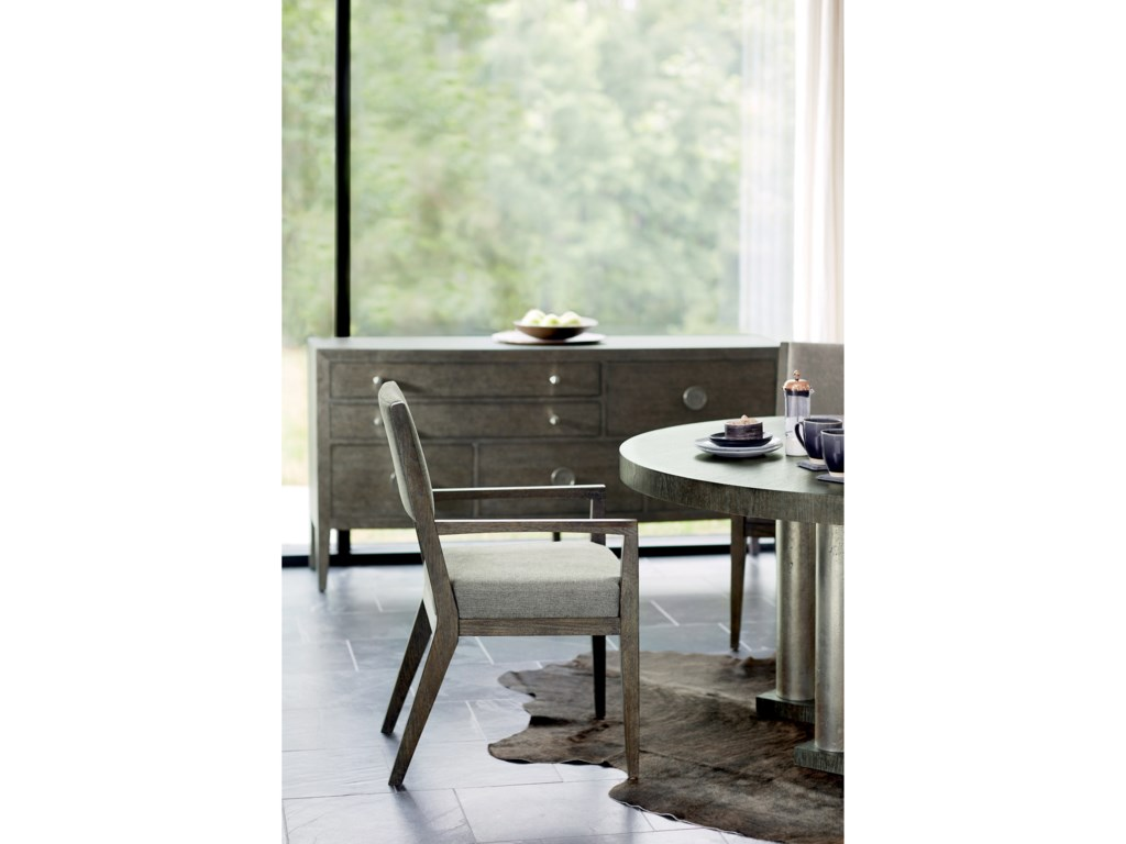 Bernhardt Linea5-Piece Table and Chair Set