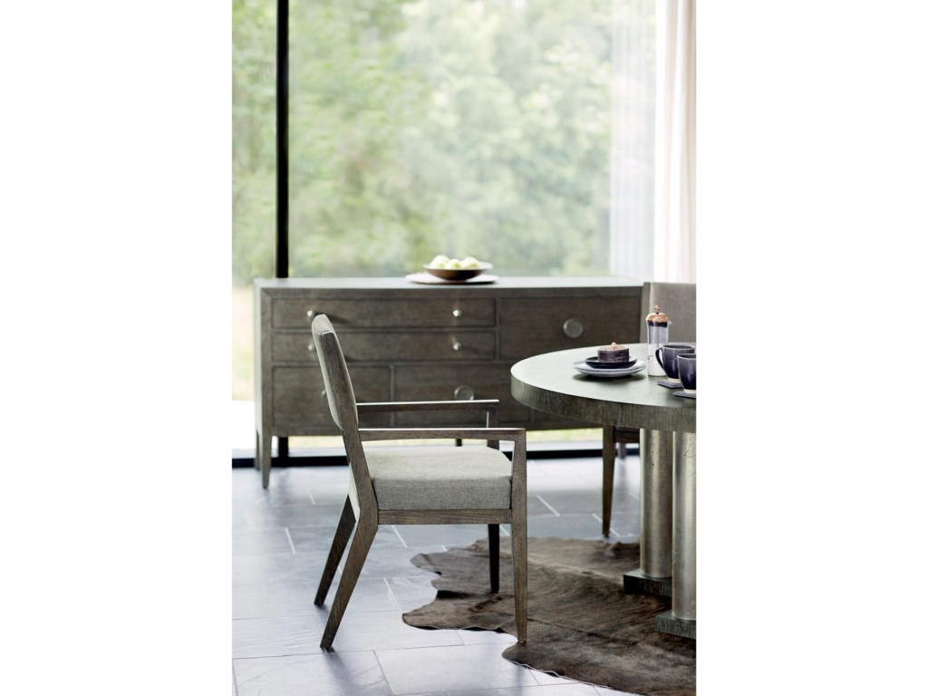 Bernhardt LineaCustomizable Arm Chair