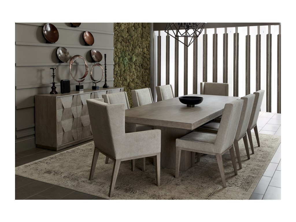 Bernhardt Linea Dining Room Group | Dunk & Bright Furniture | Formal ...