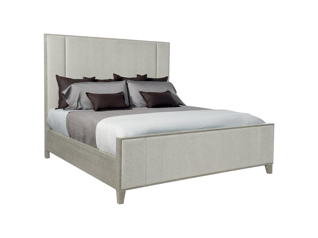 Bernhardt LineaKing Upholstered Panel Bed