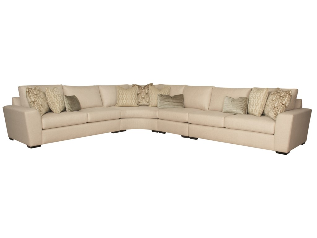 Lockett Sectional Sofa (Seats 6) by Bernhardt at Dunk & Bright Furniture