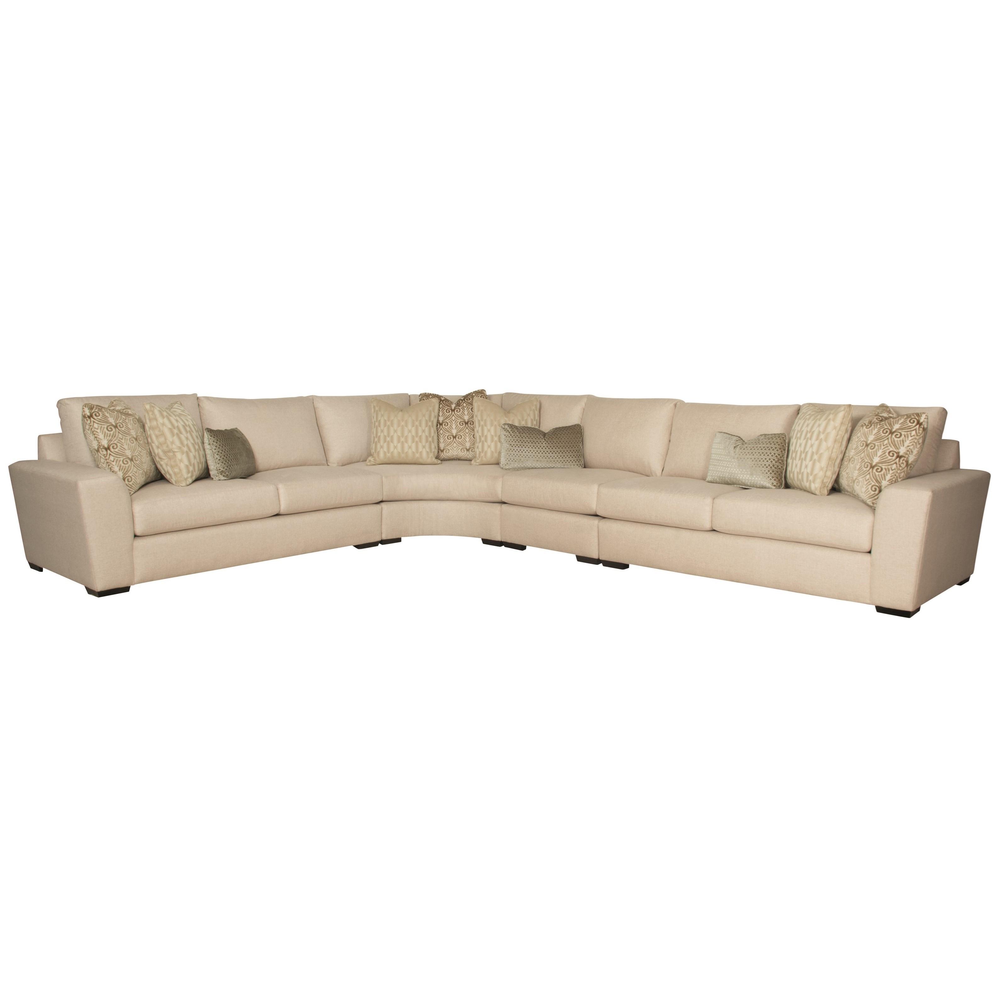 Bernhardt Lockett Sectional Sofa (Seats 6)