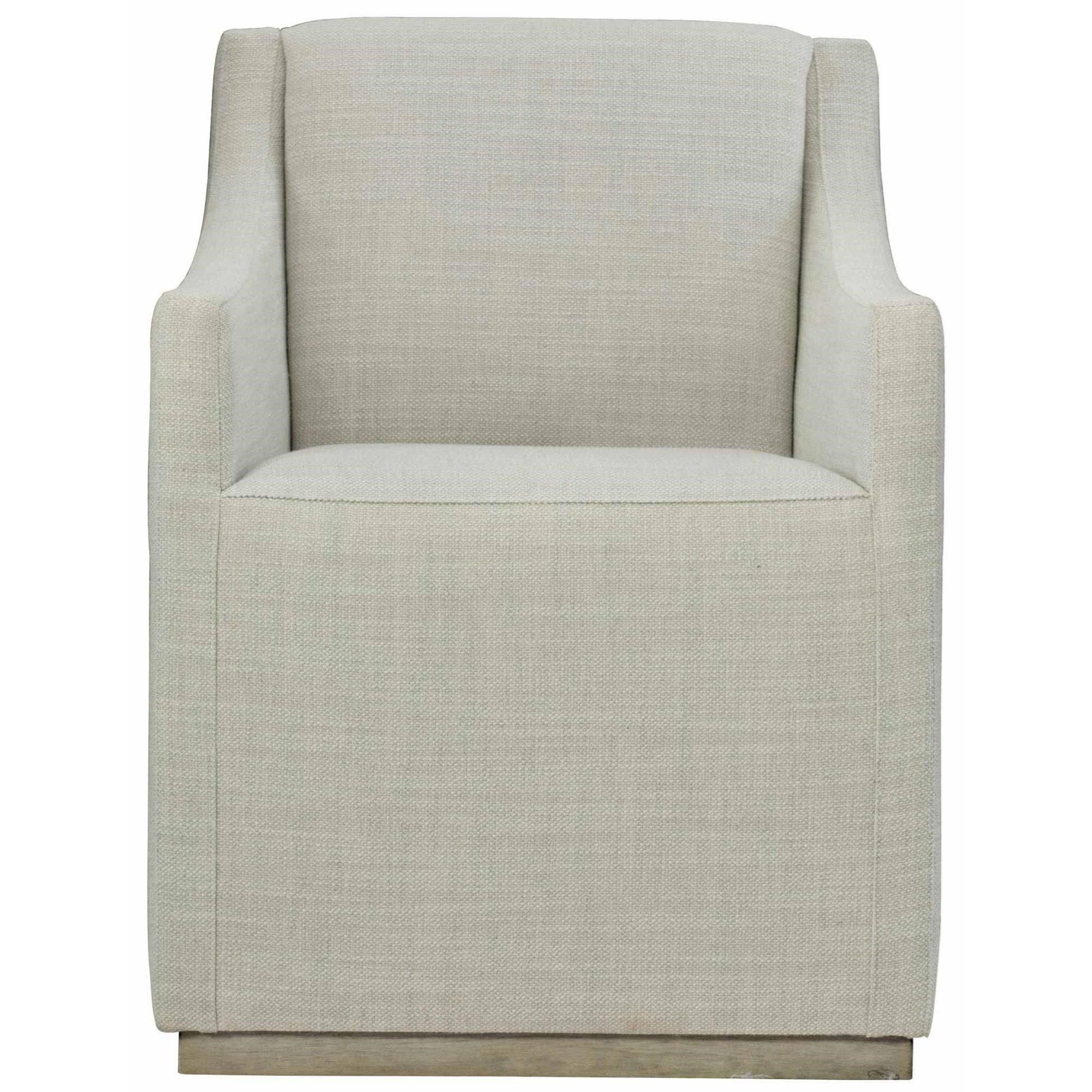 Casey Contemporary Upholstered Dining Arm Chair