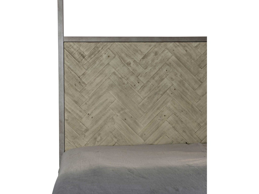 Bernhardt Loft - Highland ParkMilo Queen Canopy Bed