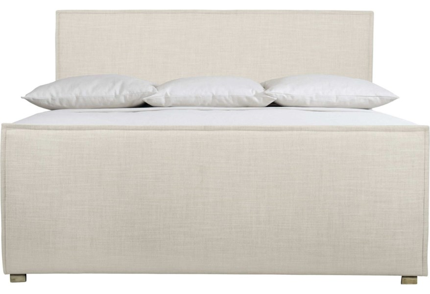 Bernhardt Loft Highland Park Sawyer Contemporary Upholstered King Bed Sprintz Furniture Upholstered Beds