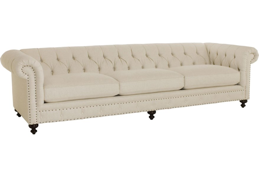 Traditional Styled Long Sofa 116 5