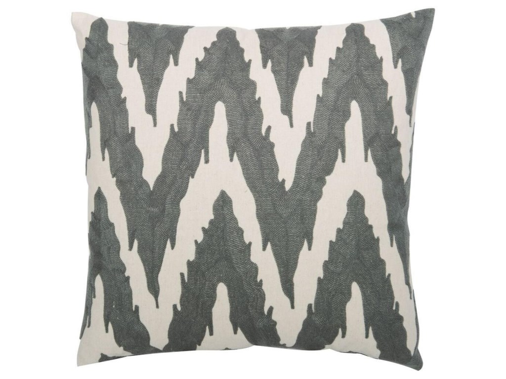 Bernhardt Luxe PillowsEmbroidered Flame Stitch (21.5