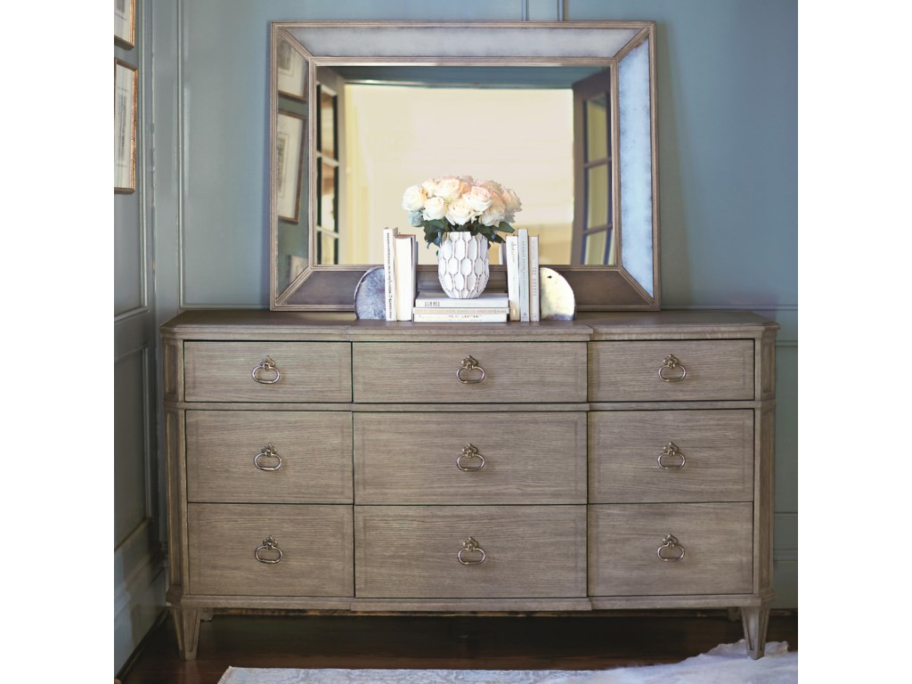 Bernhardt MarquesaDresser and Mirror Set