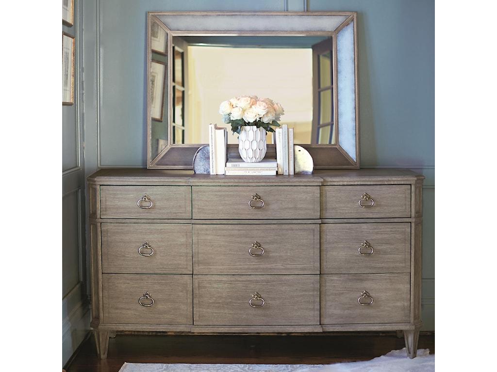 Bernhardt MarquesaDresser and Mirror Set