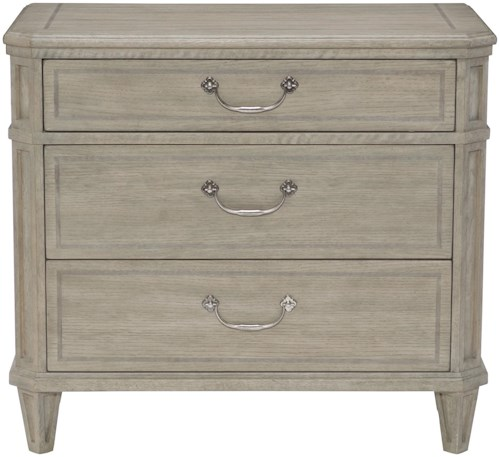 Bernhardt Marquesa Nightstand with 3 Drawers