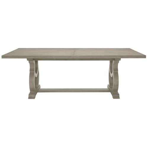 Bernhardt Marquesa Dining Table with Stretcher
