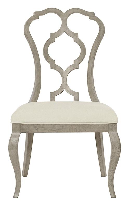 Bernhardt Marquesa Splat Back Side Chair