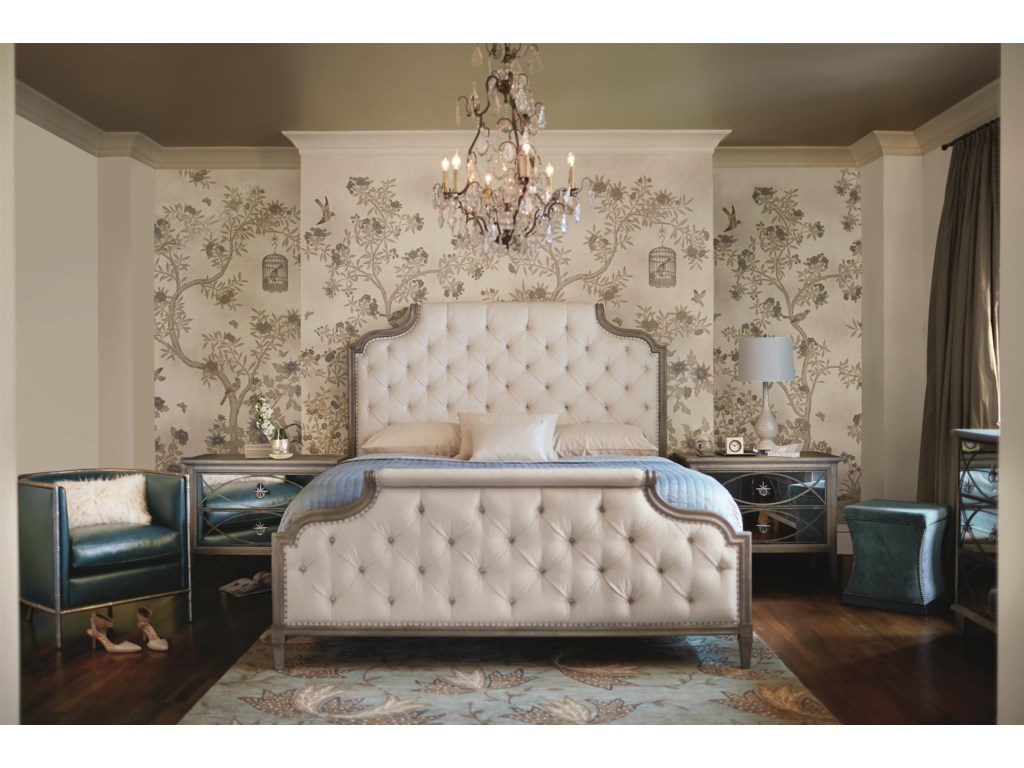 Bernhardt MarquesaKing Upholstered Bed