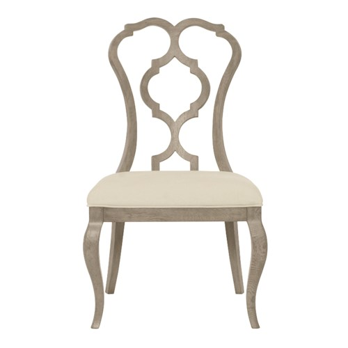 Bernhardt Marquesa Customizable Splat Back Side Chair