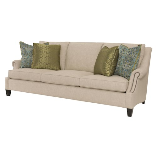 Bernhardt Martin Sofa with Transitional Style