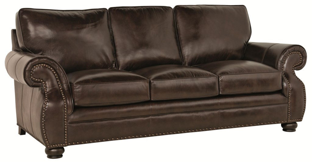 Bernhardt McHenry Traditional Sofa with Nail Head Trim Baer s