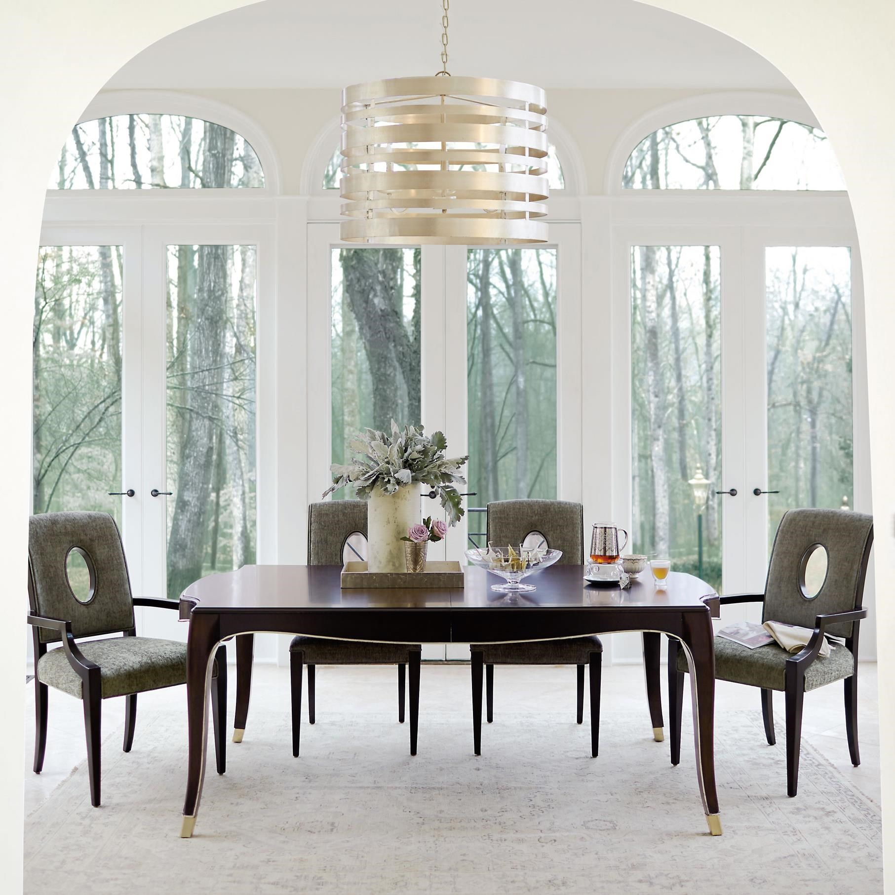 Bernhardt Miramont5 Piece Dining Table And Chair Set ...