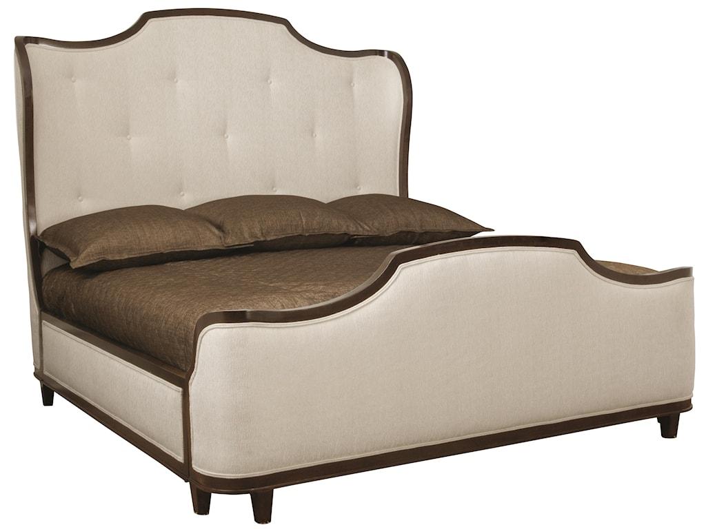 Bernhardt MiramontQueen Upholstered Sleigh Bed