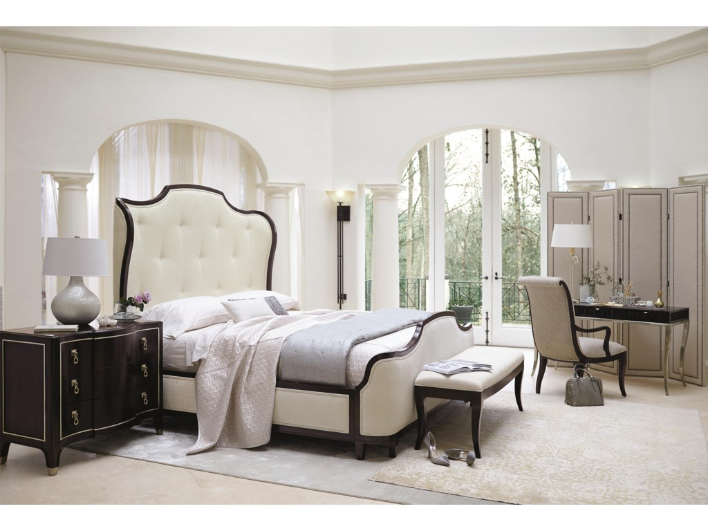 Bernhardt MiramontKing Upholstered Sleigh Bed