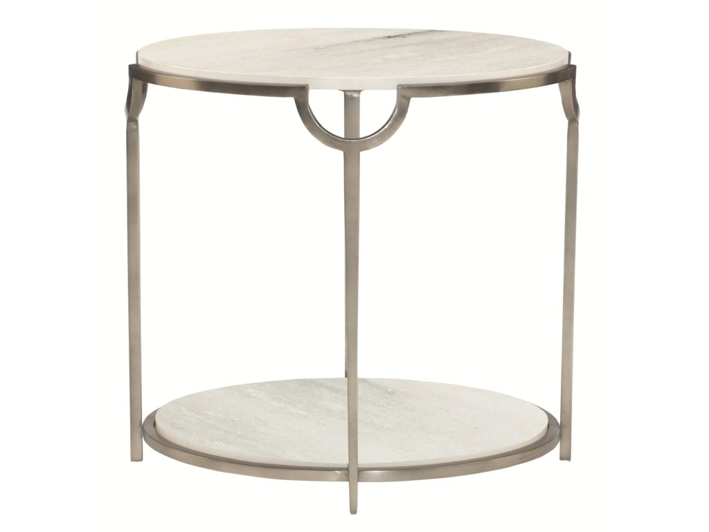 Bernhardt MorelloOval End Table