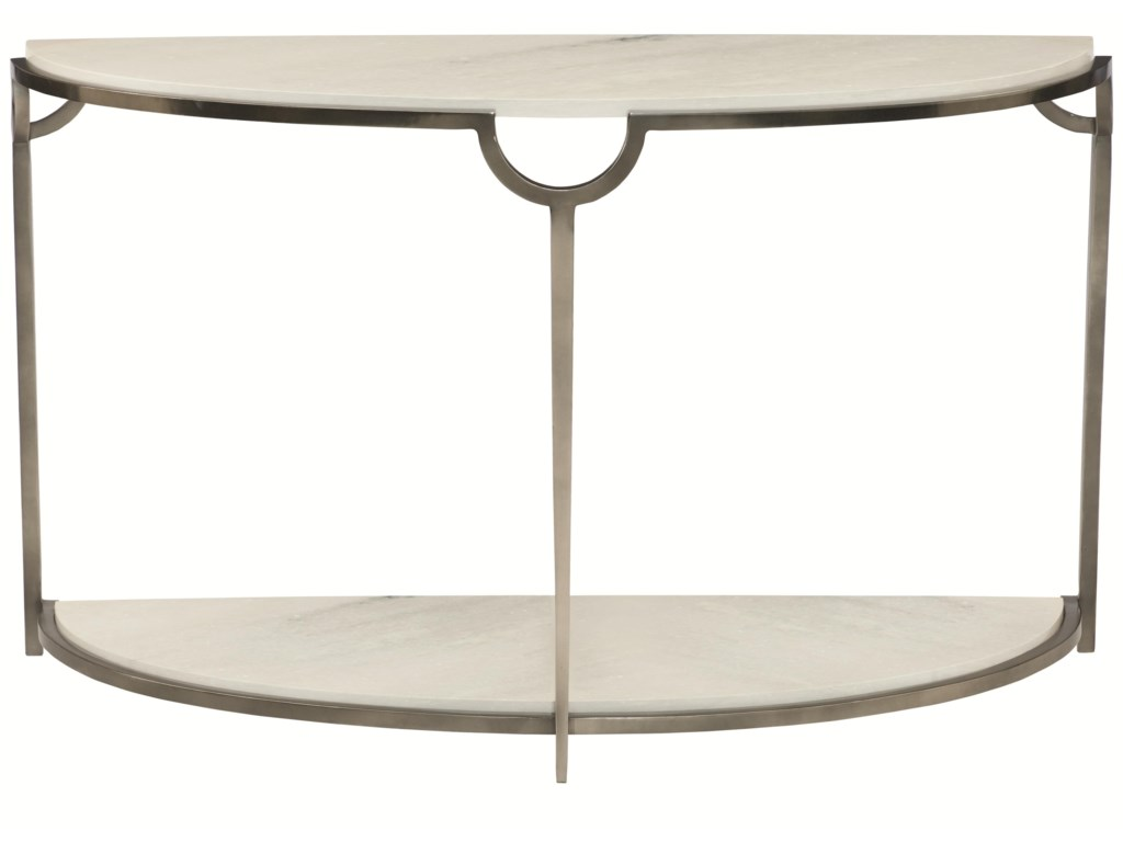 Bernhardt MorelloDemilune Console Table