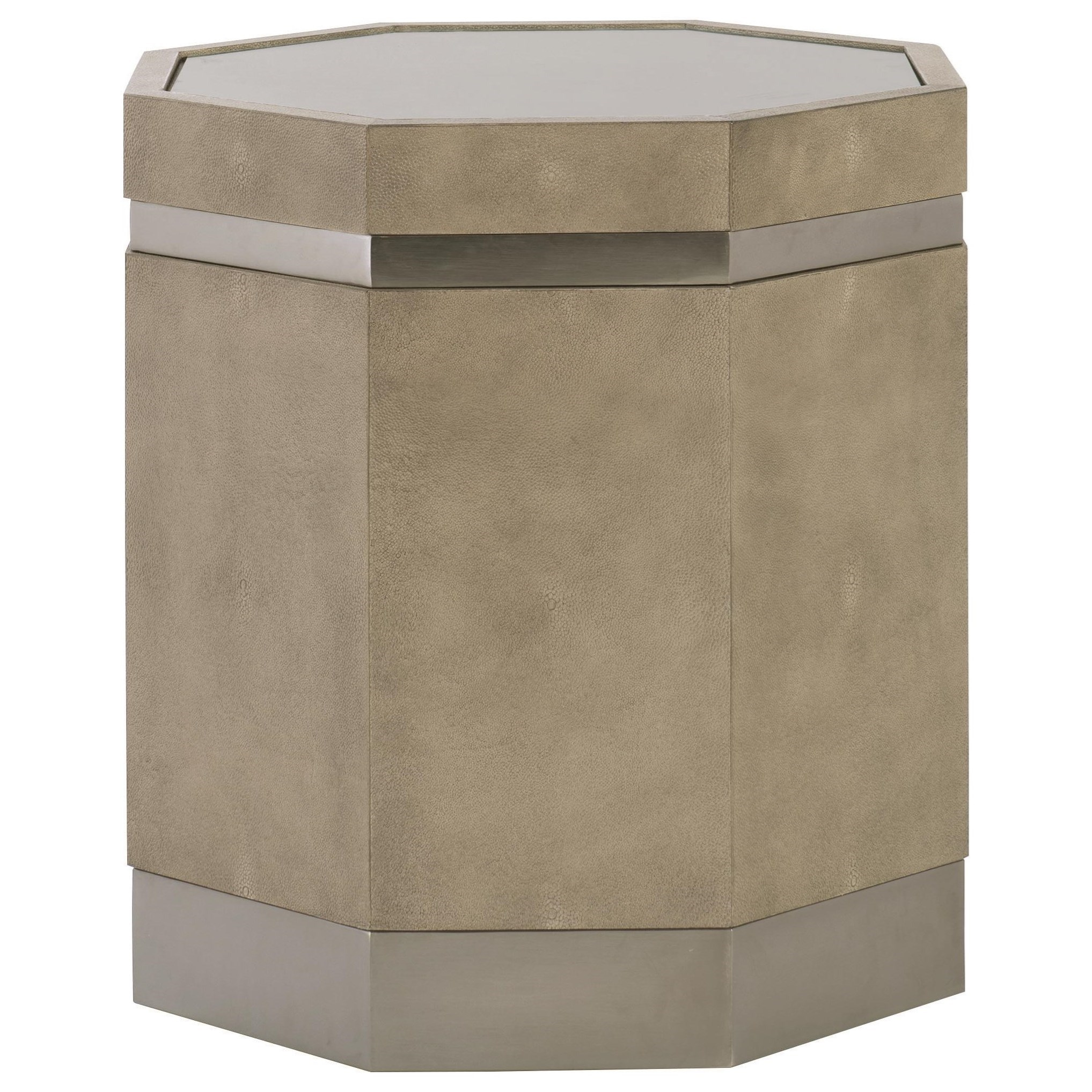 Bernhardt MosaicOctagonal End Table ...