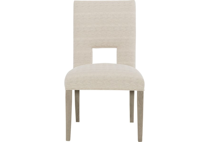 Bernhardt Mosaic Upholstered Side Chair With Open Back Area Belfort Furniture Dining Side Chairs