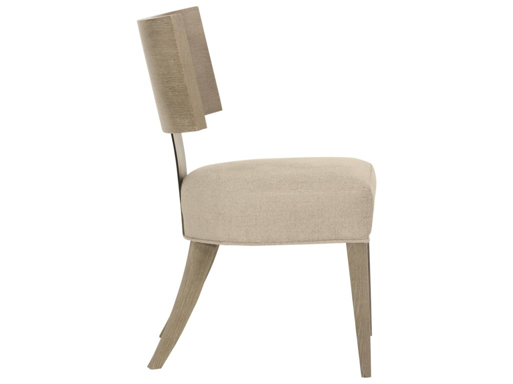 Bernhardt MosaicSide Chair with Upholstered Seat