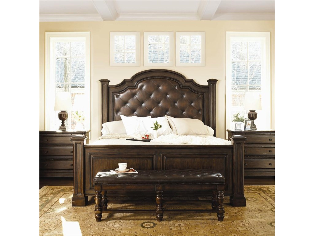 Shown With Bachelor's Chests, and Upholstered Panel Bed