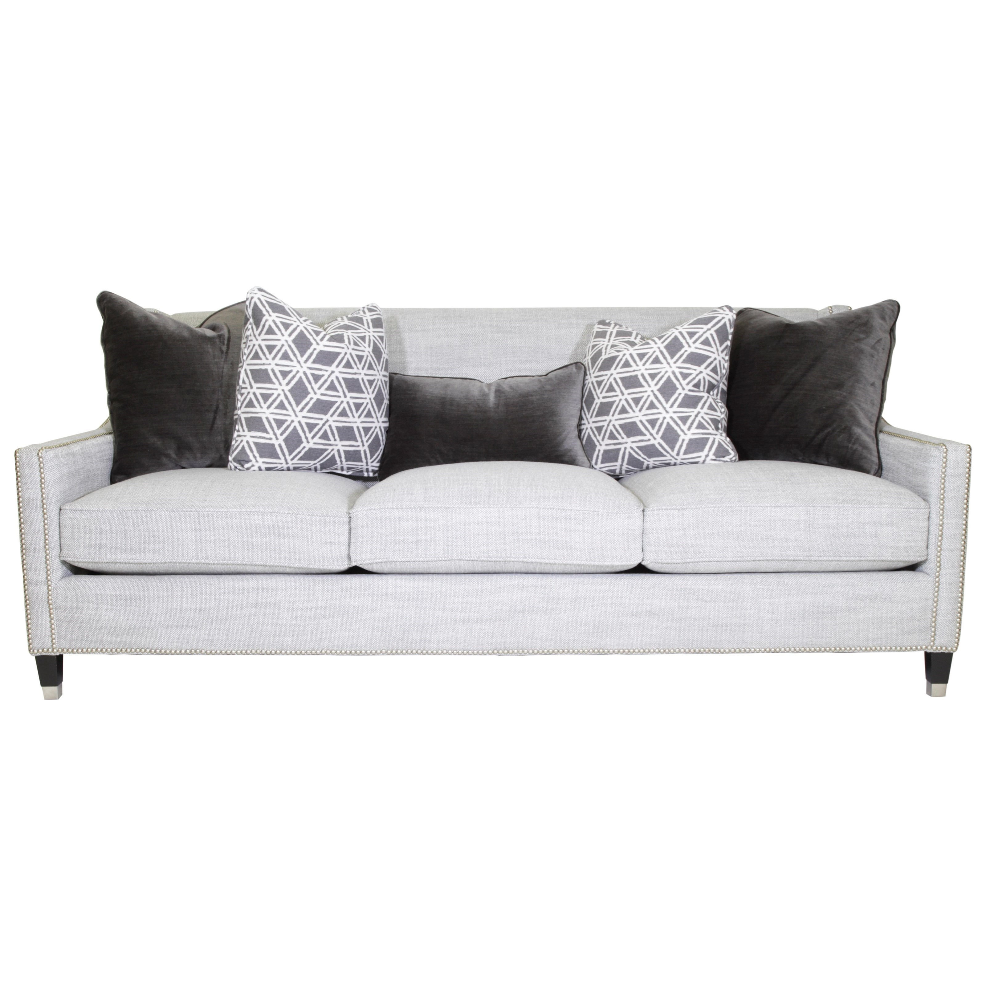 Bernhardt PalisadesTransitional Sofa With Nailhead Trim ...