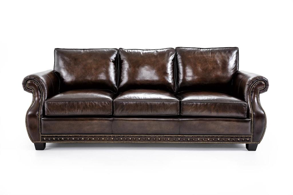 Bernhardt Parker Traditional Stationary Sofa Baer s Furniture