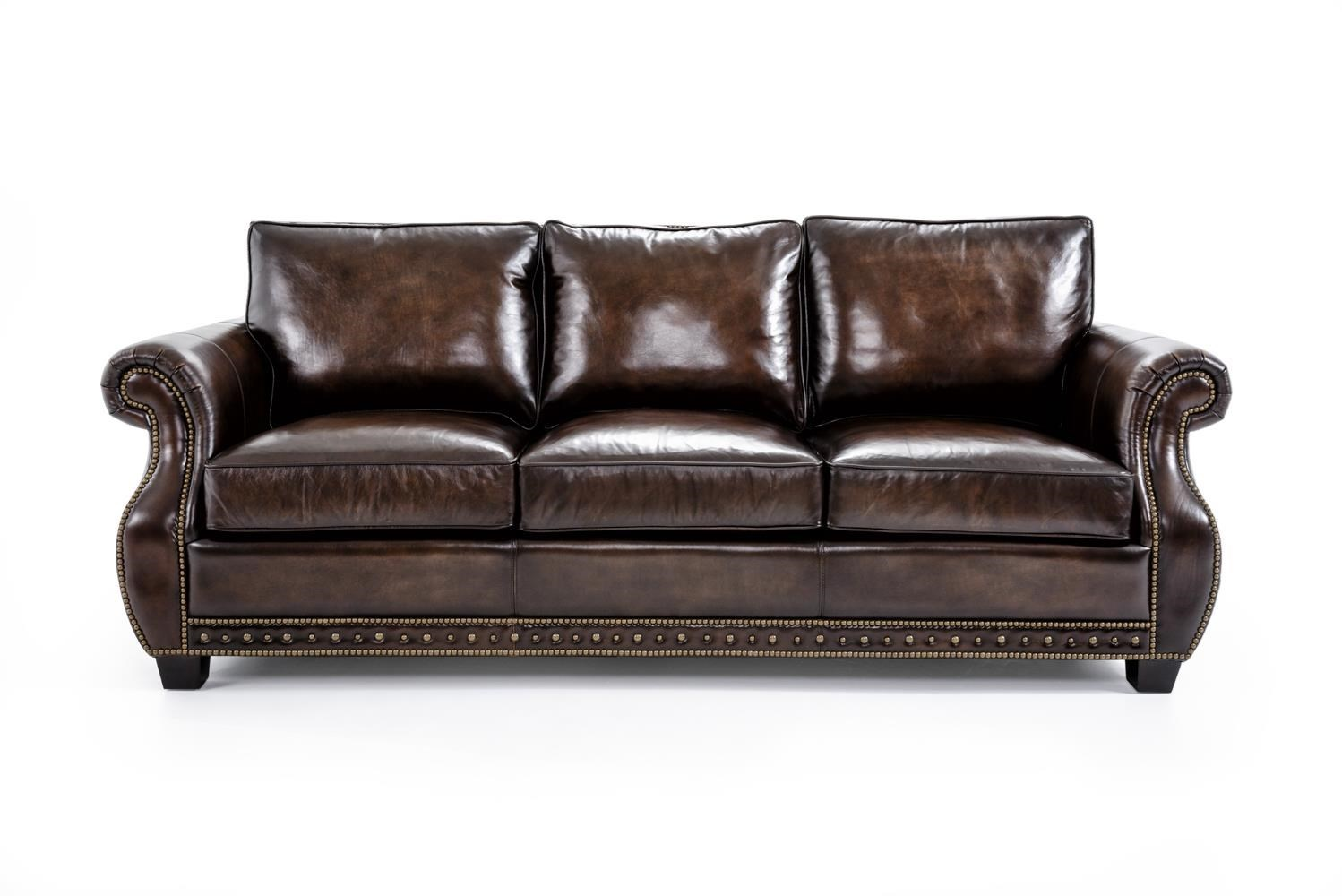 Bernhardt Leather Sofa Wonderful