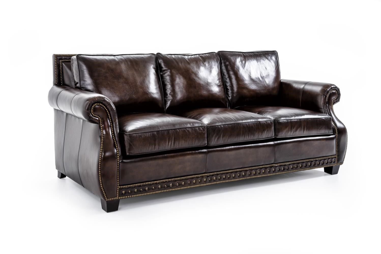 bernhardt parker 4077lxo dark brown traditional stationary sofa