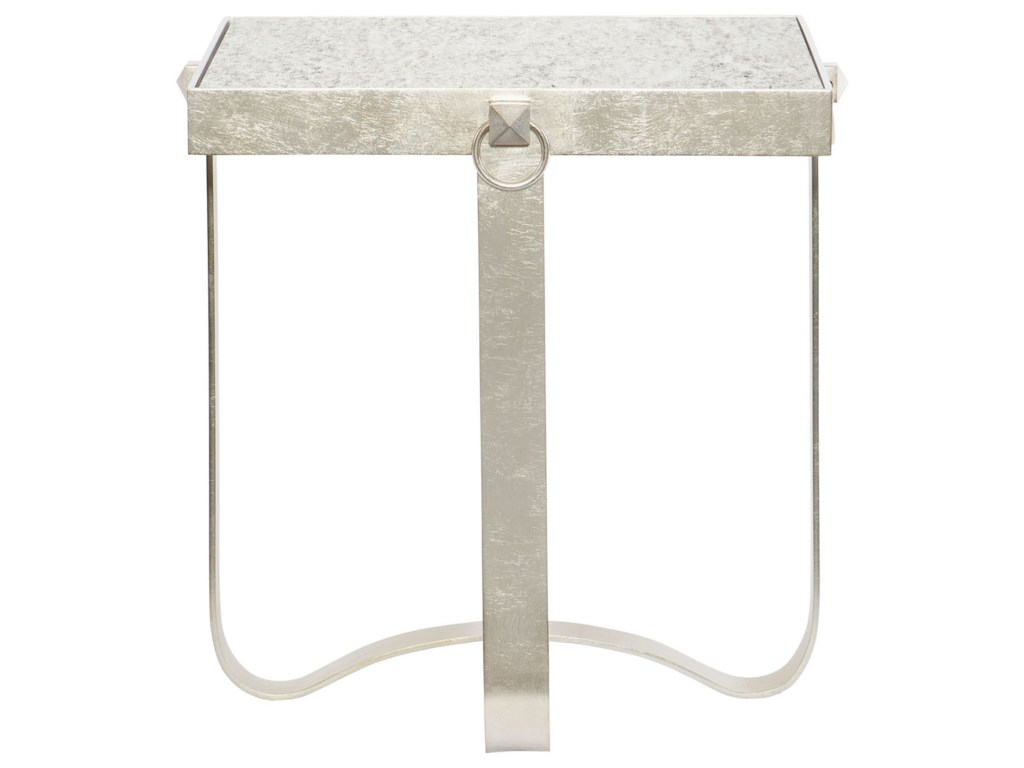 Bernhardt PortiaMetal Square End Table