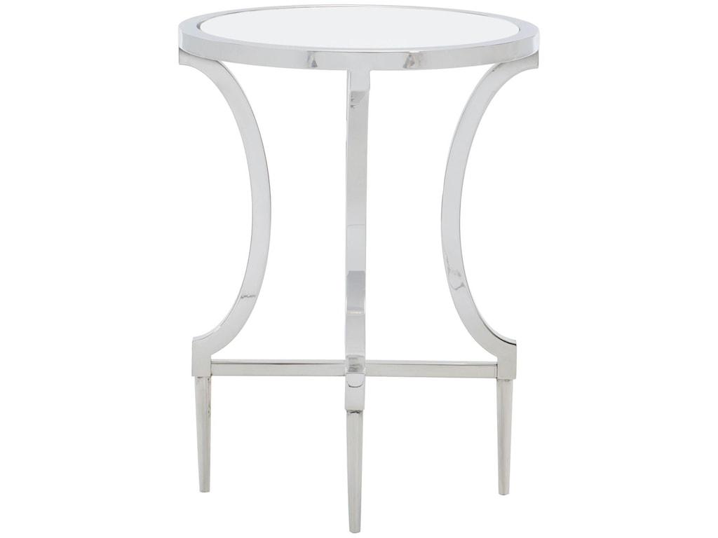 Bernhardt PortolaMetal Round Drink Table