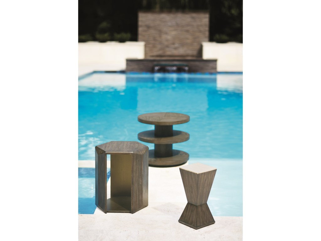 Bernhardt ProfileHexagon Chairside Table