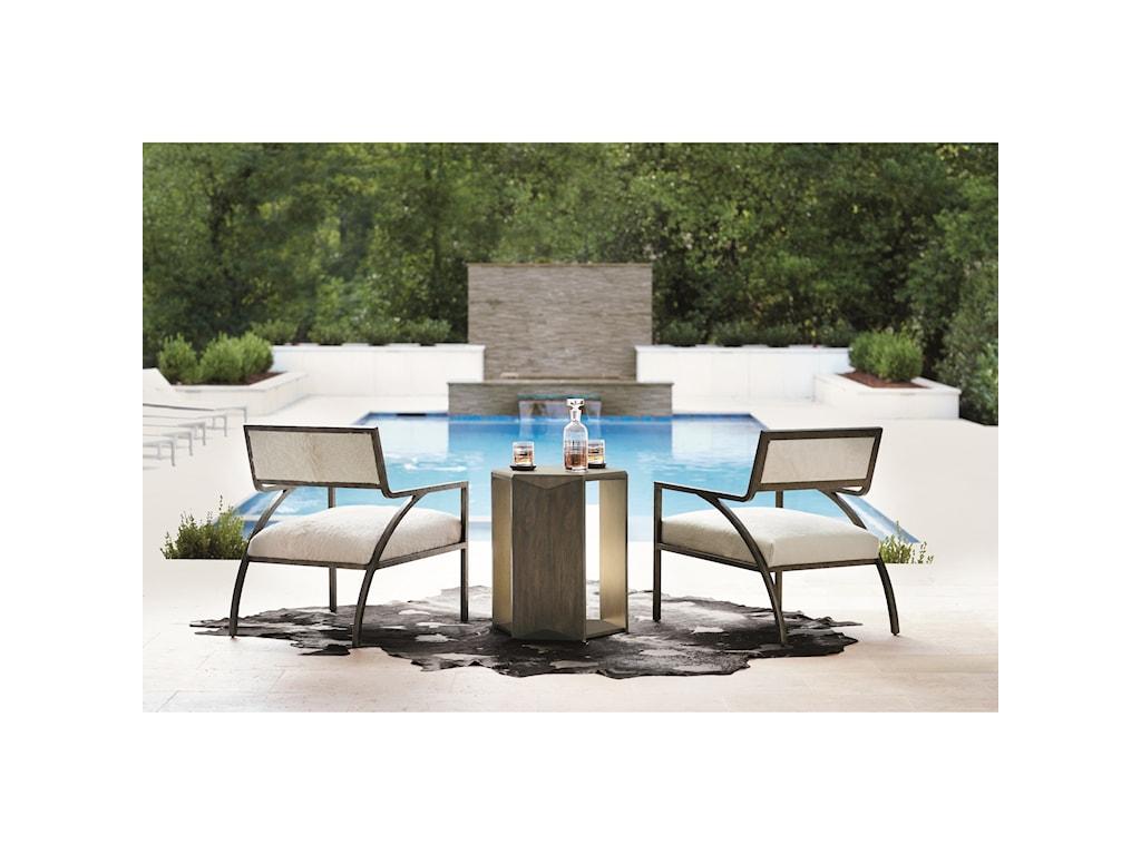 Bernhardt ProfileHexagon Chairside Table