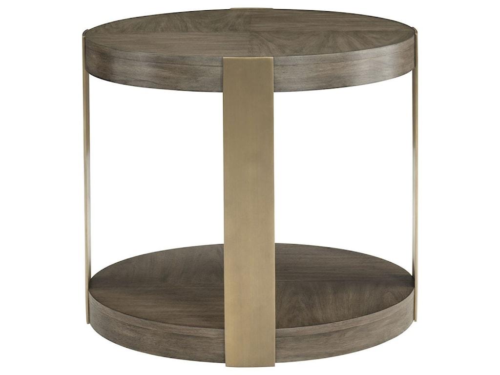 Bernhardt ProfileRound Chairside Table