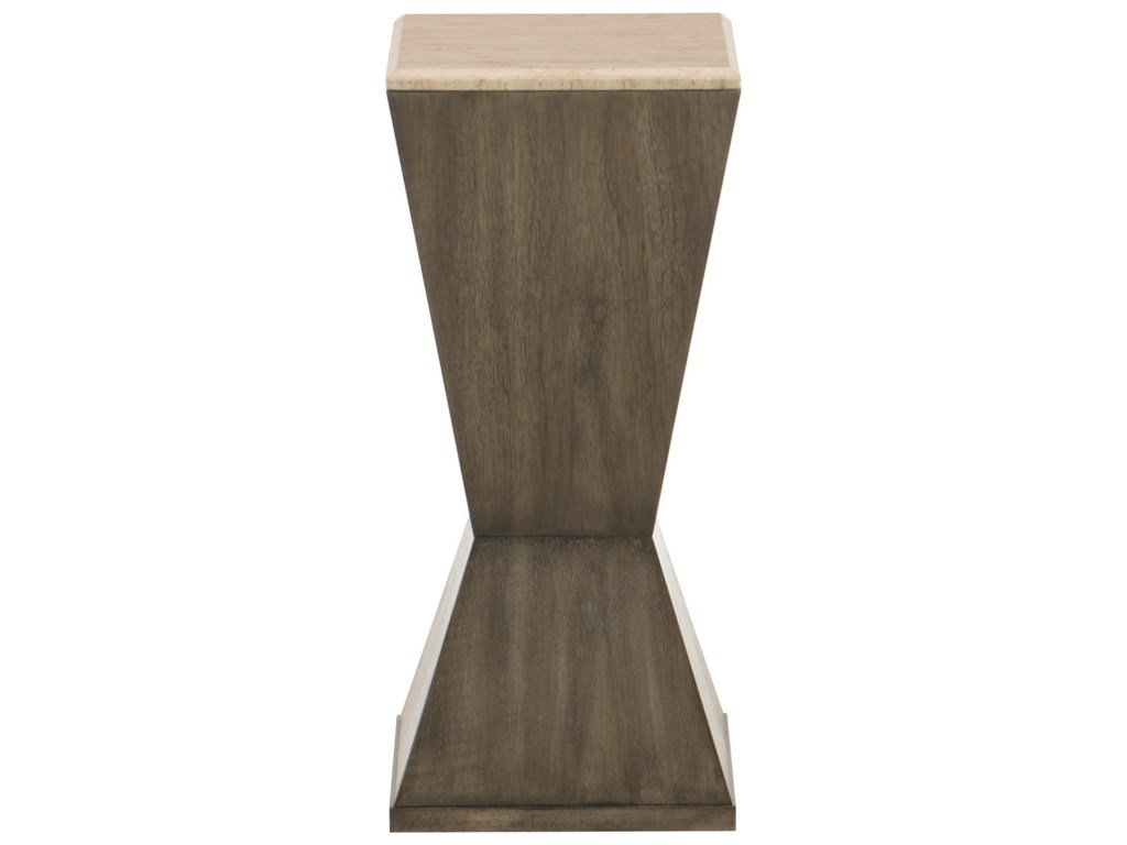 Bernhardt ProfileDrink Table with Stone Top