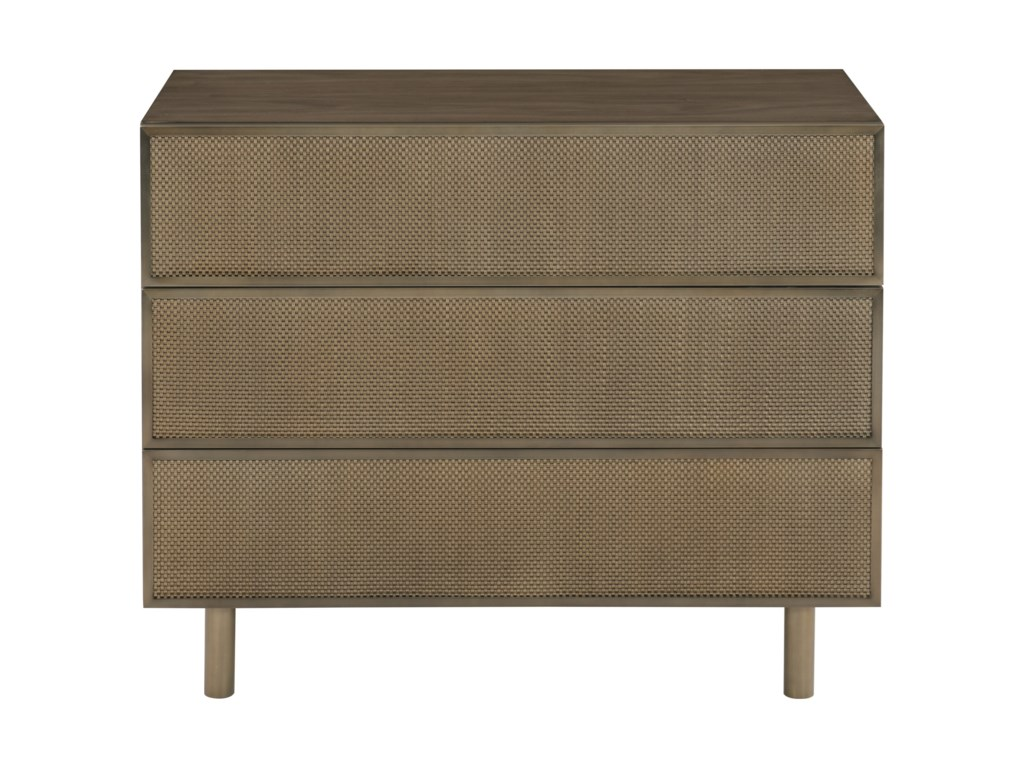 Bernhardt ProfileThree Drawer Nightstand