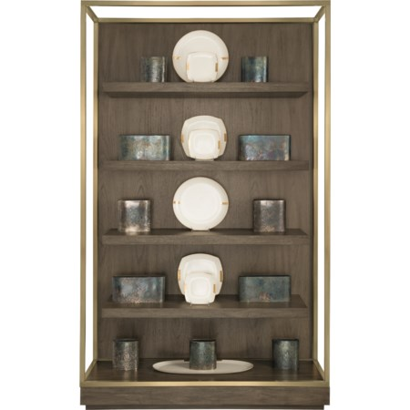 Etagere with Floating Shelves