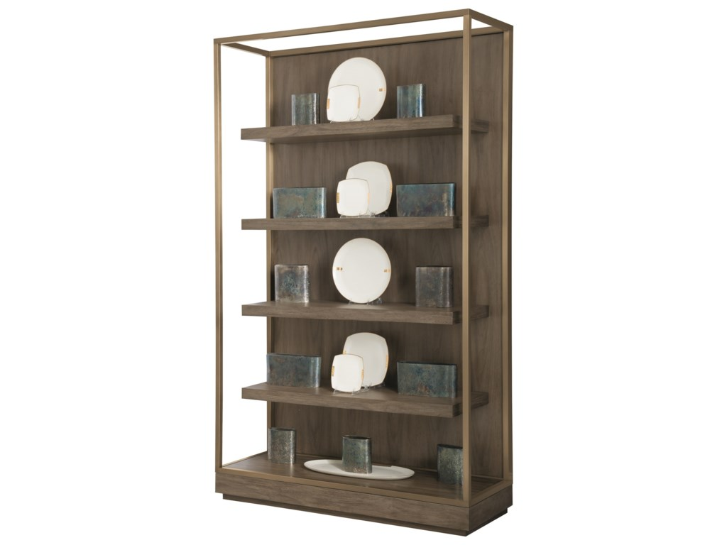 Bernhardt ProfileEtagere with Floating Shelves