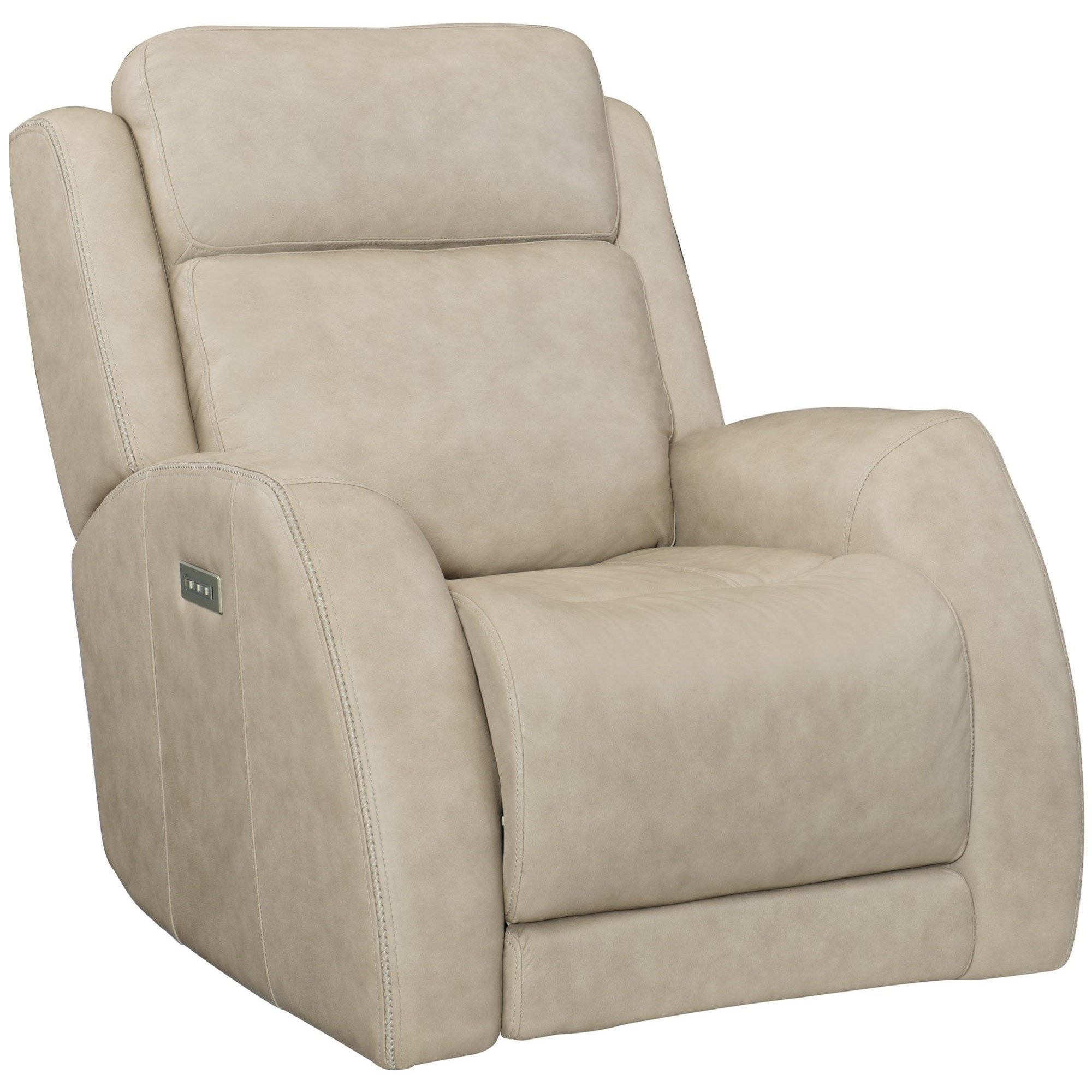 Bernhardt Rawlings 193rl Casual Power Glider Recliner With