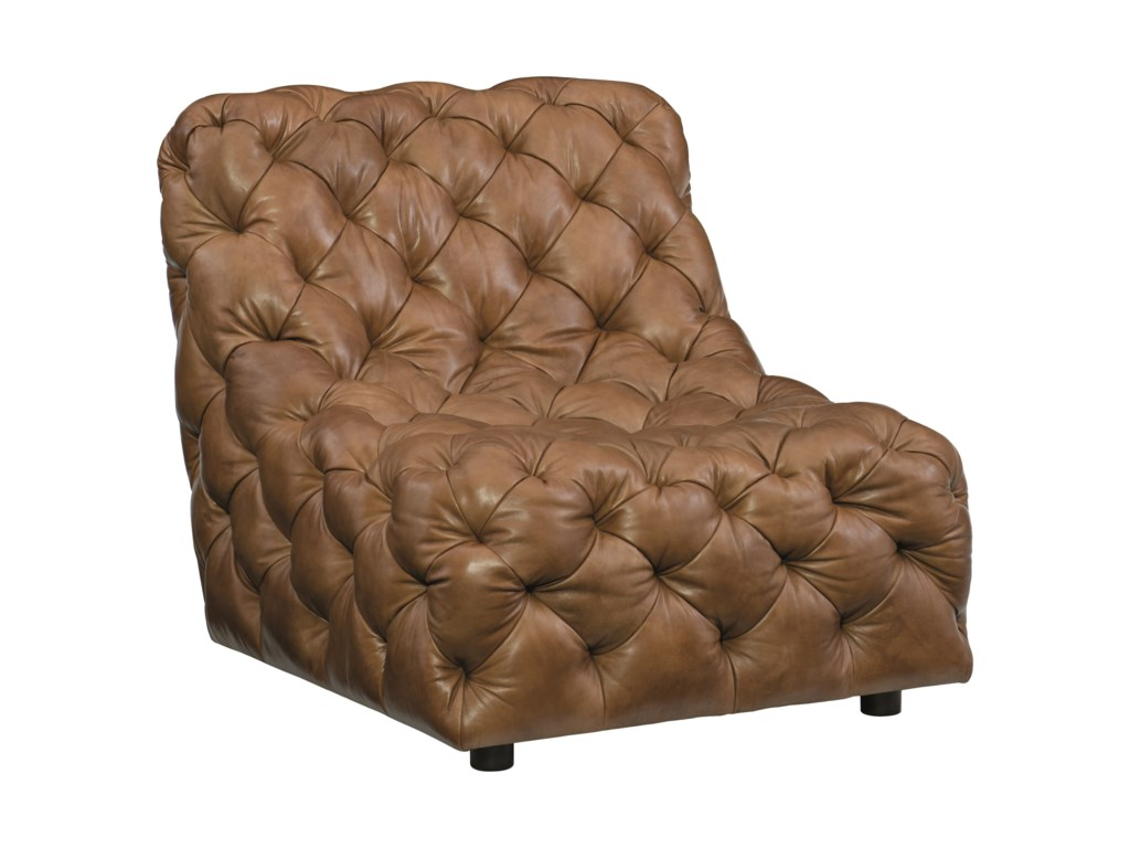 Bernhardt RigbyArmless Tufted Chair
