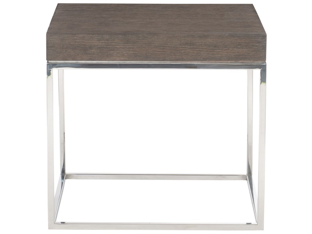 Bernhardt Riverside 491-121 Contemporary End Table with ...