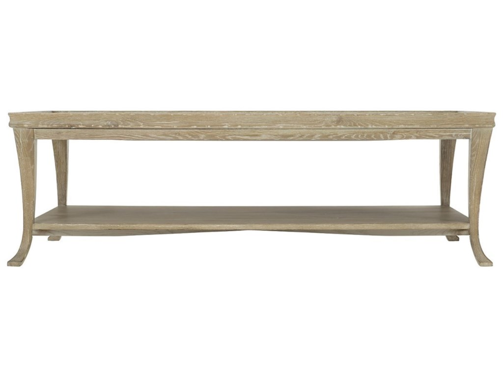 Bernhardt Rustic PatinaRectangular Cocktail Table