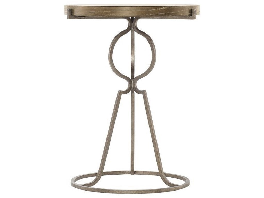 Bernhardt Rustic PatinaRound End Table